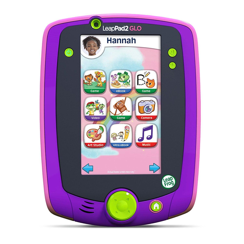 LeapFrog LeapPad Glo Kids Learning Tablet, Purple by