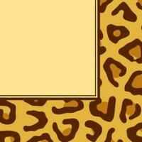 Animal Print Leopard 3-Ply Lunch Napkins , 2PK