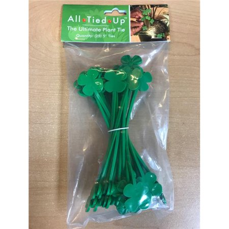 Ultimate Innovations 3120 8 in  Flower Green Plant Ties