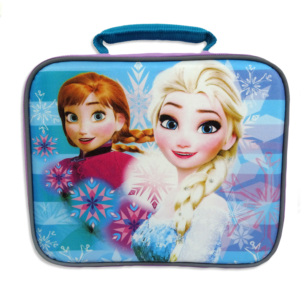 Disney Frozen Sisters Rectangular Lunch Bag, 1 Each