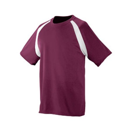15 Home Jersey - Polyester Wicking Colorblock Jersey 218