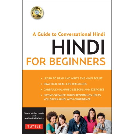 Hindi for Beginners : A Guide to Conversational Hindi (Audio Disc