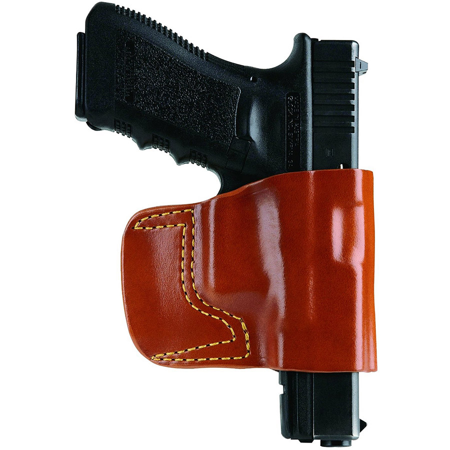 Gould and Goodrich 891-G17 Concealment Belt Slide Holster, Chestnut Brown