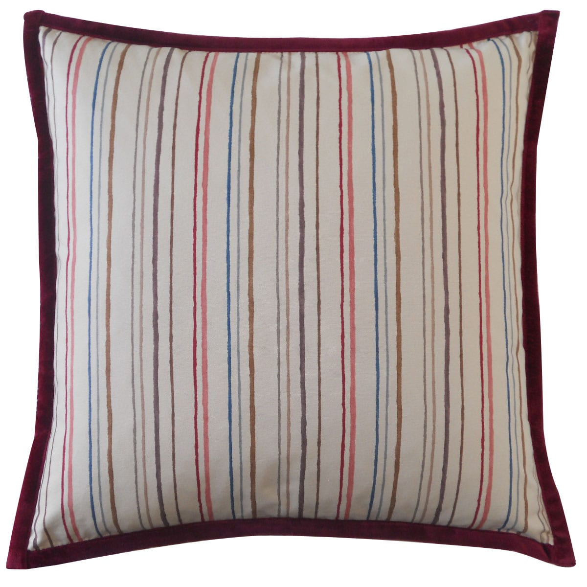 Jiti Pillows Handmade Alita Stripes Down Throw Pillow Walmart Com Walmart Com