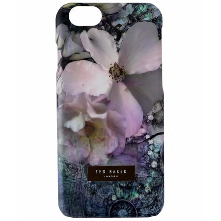 Ted Baker Leather Case (Ted Baker Slim and Trim Case Cover for Apple iPhone 6s 6 - Multi White Flower)