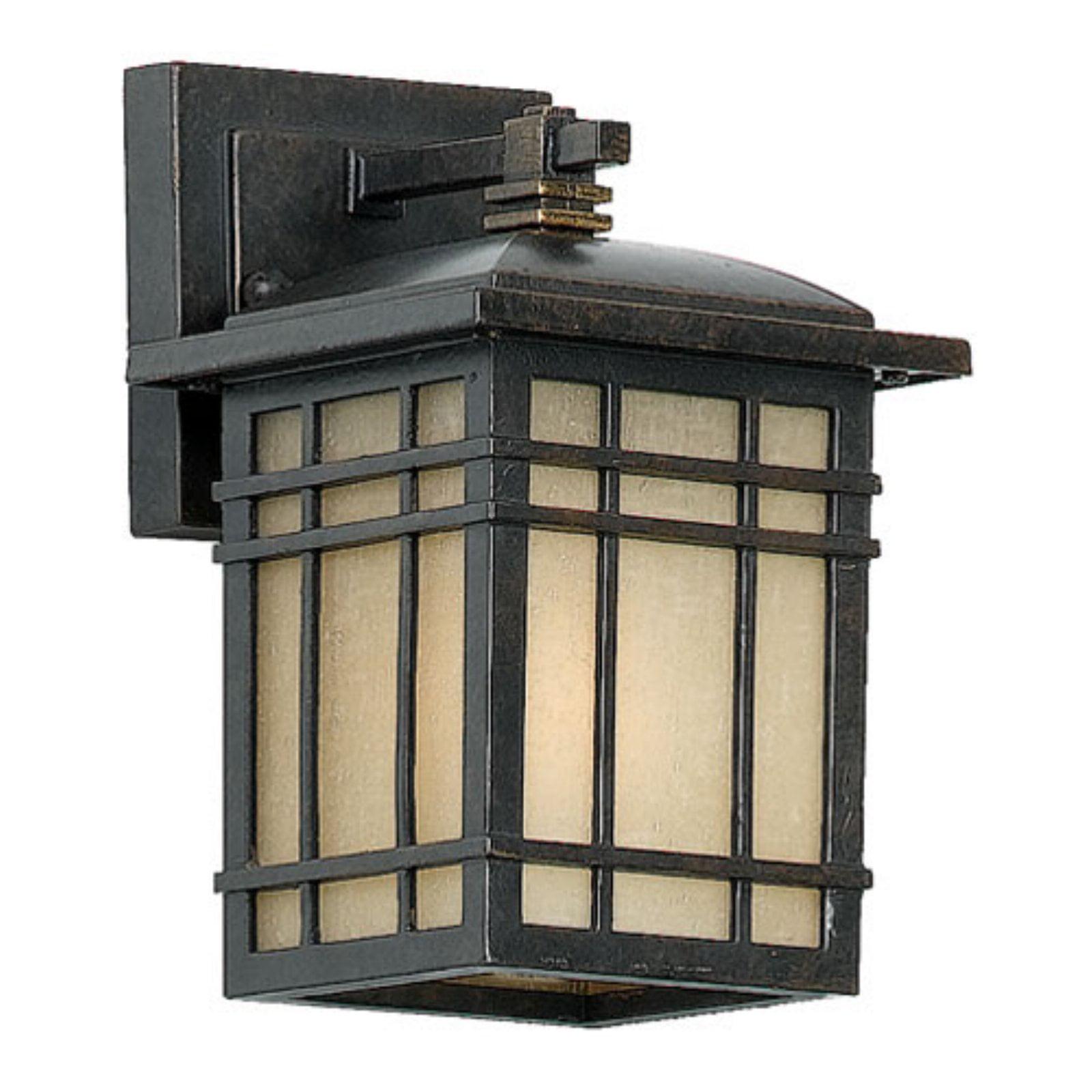 Quoizel Hillcrest HC8406IB Outdoor Wall Lantern