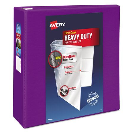 Binder 4 Inch - Avery Heavy-Duty View Binder w/Locking EZD Rings, 4