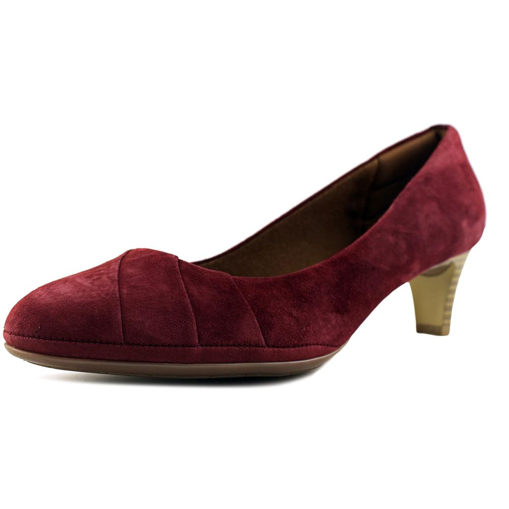 Click here to buy Eurosoft by Sofft Tellis Round Toe Suede Heels by Eurosoft by Sofft.