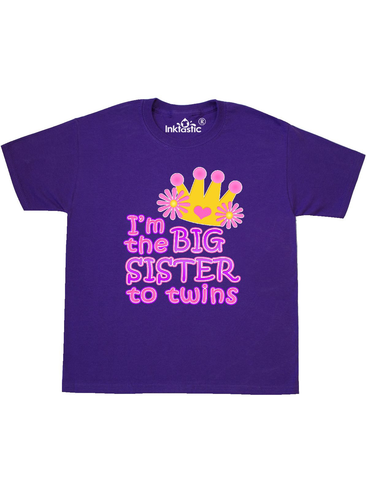 I'm the big sister to twins. Youth T-Shirt