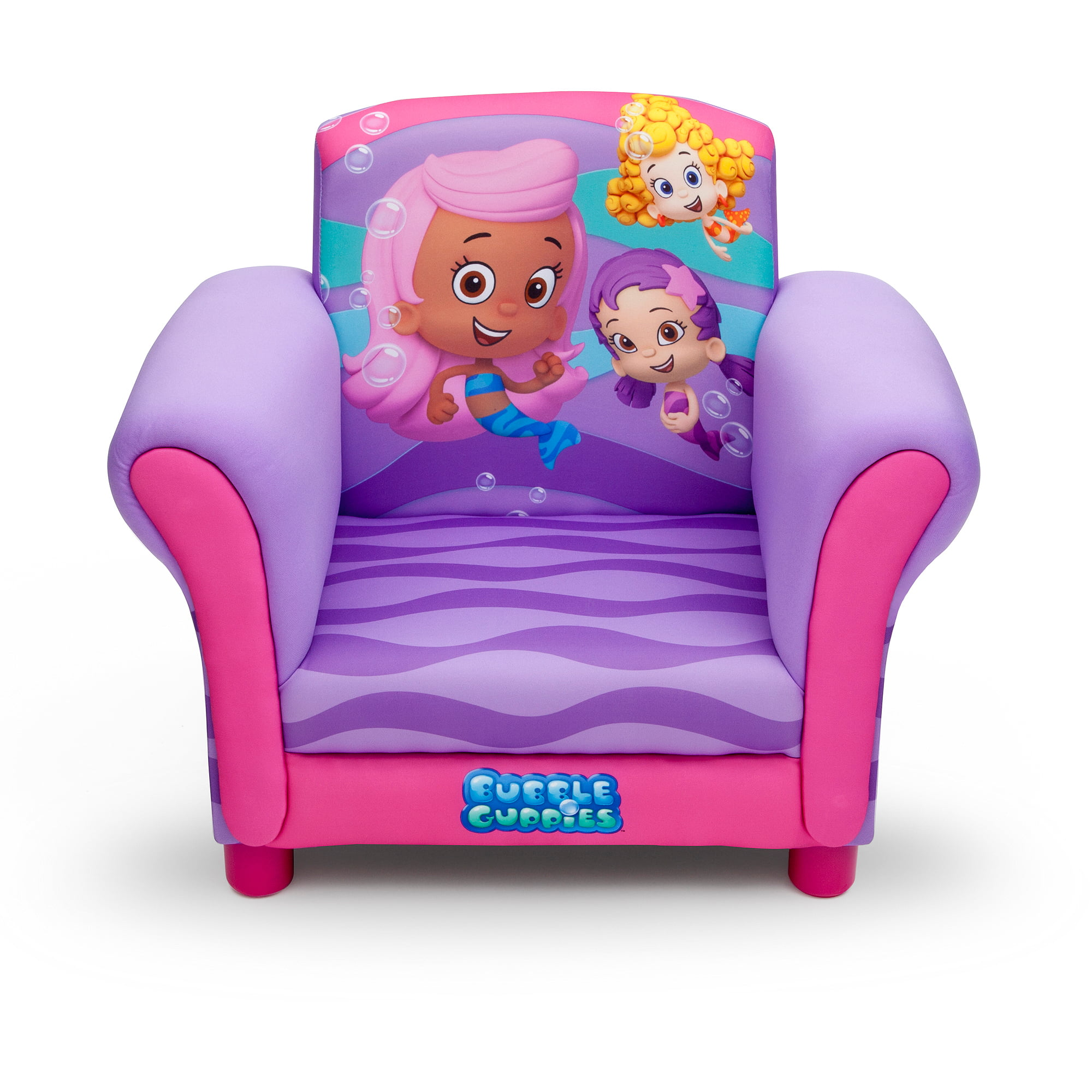 delta children u0027s products nickelodeon bubble guppies upholstered
