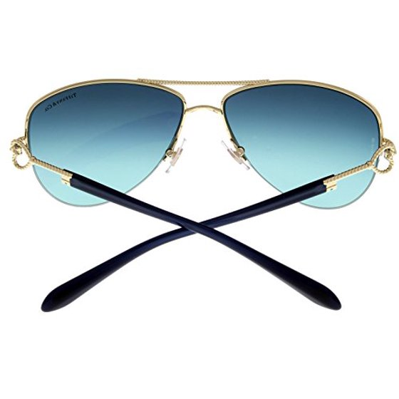 a7e3ba438c Tiffany   Co - Tiffany   Co Sunglasses Women Gold Aviator TF3046 60949S Size   Lens  Bridge  Temple  57-14-135 - Walmart.com