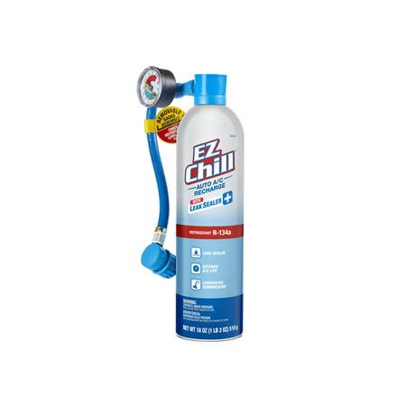 EZ Chill R-134a AC Recharge Kit with Leak Sealer Plus