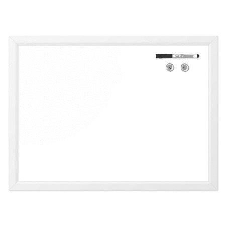 Quartet Magnetic Dry-Erase Board, 17