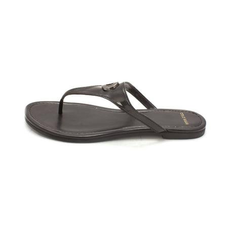 Cole Haan Womens Makaylasam Open Toe Casual, Black, Size 6.0