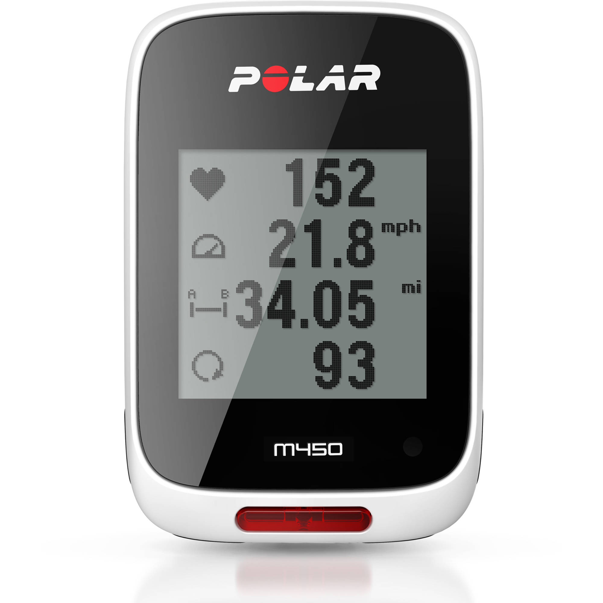 Polar M450 Cycling Computer with Heart Rate
