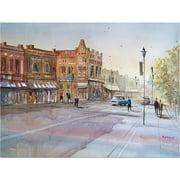 "Trademark Art ""Waupaca  Main Street"" Canvas Art by Ryan Radke"