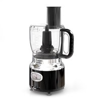 Russell Hobbs Retro Style Food Processor, 8-Cup (64-oz) Capacity, Black, FP3100BKR
