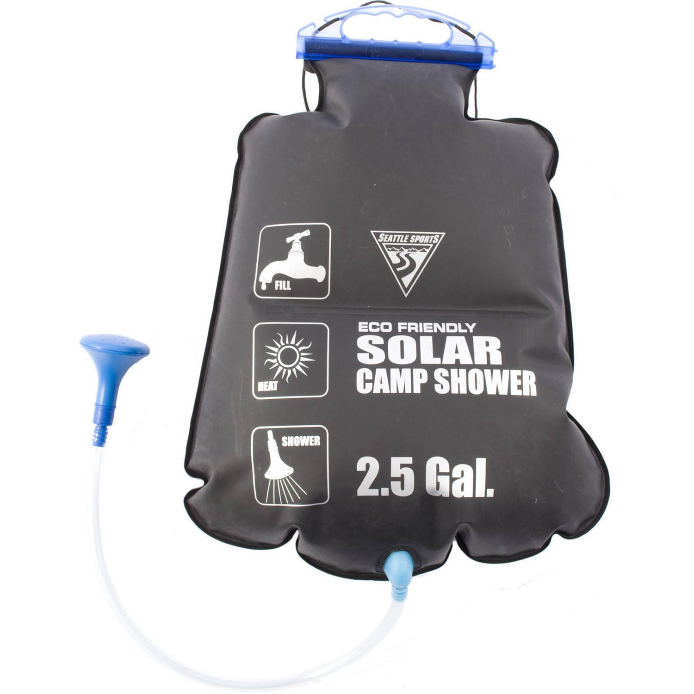 Seattle Sports PVC Free Solar Shower, Black