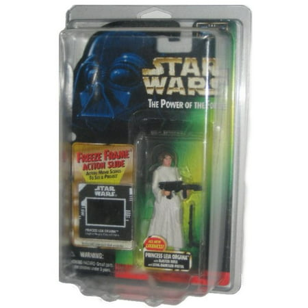 Star Wars Power of The Force Freeze Frame Princess Leia Organa Kenner Figure