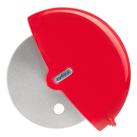 Pizza Cutter Wheel and Slicer, Handheld pizza wheel smoothly slices through even thick-crusted pizza By Zyliss