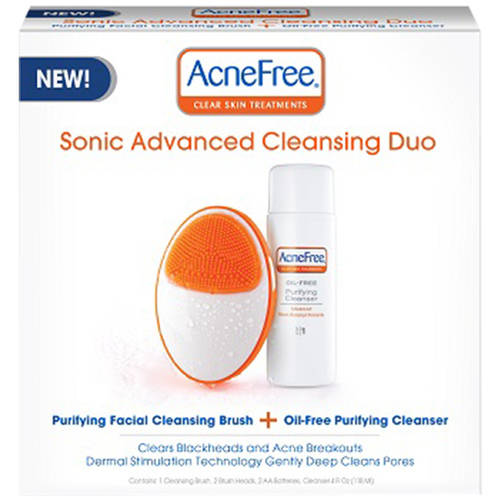 AcneFree Sonic Advanced Cleansing Duo Kit, 6 pc