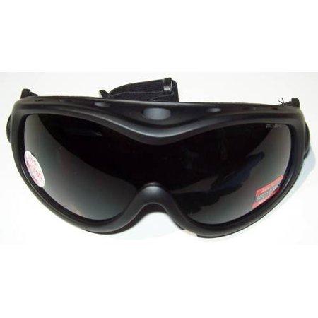 Smoked Lens ALL Star Global Vision Goggles Fits Over Prescription Rx (Adidas Sports Glasses Prescription)