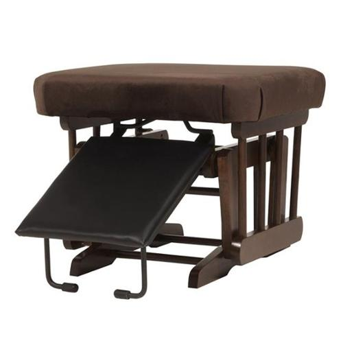ULTRAMOTION by Dutailier Ultramotion Nursing Ottoman in Coffee and Chocolate