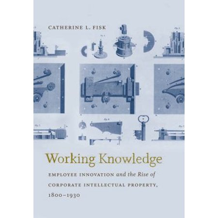 Working Knowledge  Employee Innovation And The Rise Of Corporate Intellectual Property  1800 1930