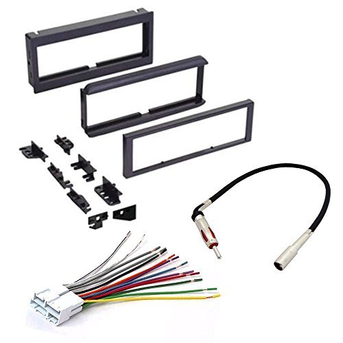 car cd stereo receiver dash install mounting kit   wire