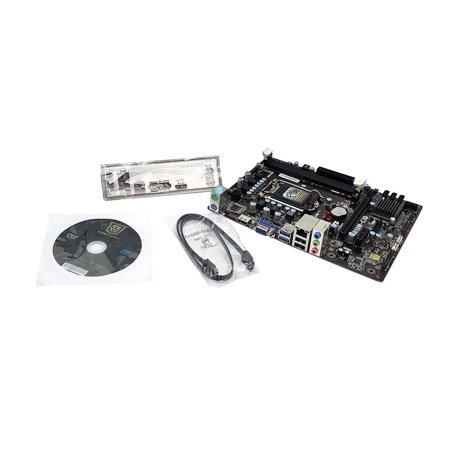 H110M-C3D V1.0 ECS H110 Chipset LGA 1151 Socket SATA3 6GBS Micro ATX Motherboard Intel LGA1151 (Ga H110m A Micro Atx Lga1151 Motherboard)