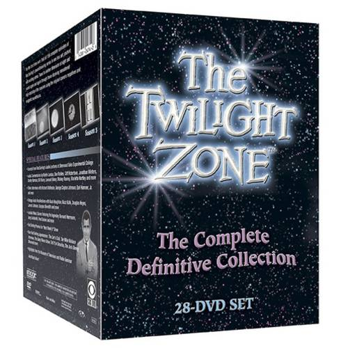 Twilight Zone: The Complete Definitive Collection, Seasons 1-5 (Full Frame)