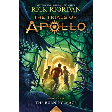 The Trials of Apollo, Book Three: The Burning Maze -