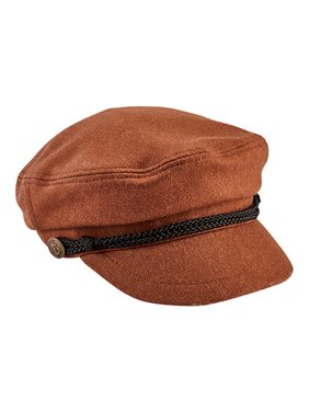 339a82548f33 Product Image Women s San Diego Hat Company Cabbie Newsboy Cap with Braid  Trim Buckle CTH8083