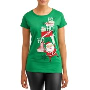 womens christmas holiday graphic short sleeve t shirt - Southern Womens Christmas Show