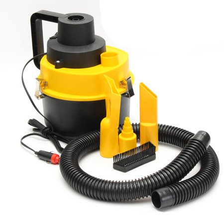 75W 12V Car Wet Dry Vac Vacuum Cleaner Hand-Held High Power Cleaner Kit Portable Inflator Turbo for Car Shop](Vans On Clearance)
