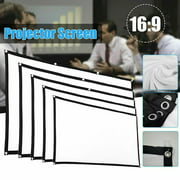 PUYANA Household and indoor daily electronic equipment 84inch HD Projector Screen 16:9 Home Cinema Theate-r Projection Portable Screen