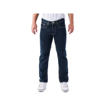 Custom Designer Jeans - Alta Denim F-16 Designer Fashion Men's Straight Fit Jeans