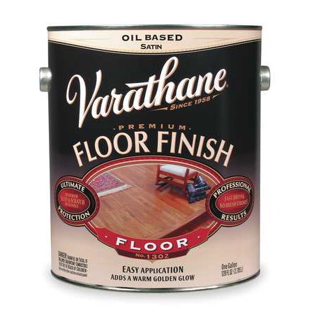 RUST-OLEUM 130031 Floor Finish,Crystal Clear,Gloss,1