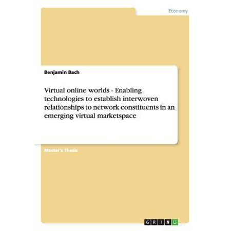 Virtual Online Worlds   Enabling Technologies To Establish Interwoven Relationships To Network Constituents In An Emerging Virtual Marketspace