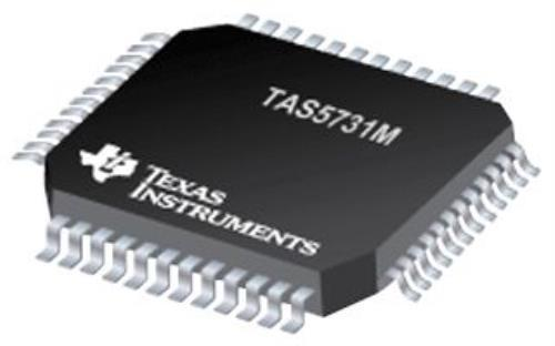 5X Texas Instruments Tas5731Mphp Amplifier, Audio, 30W, Htqfp-48 by Texas Instruments