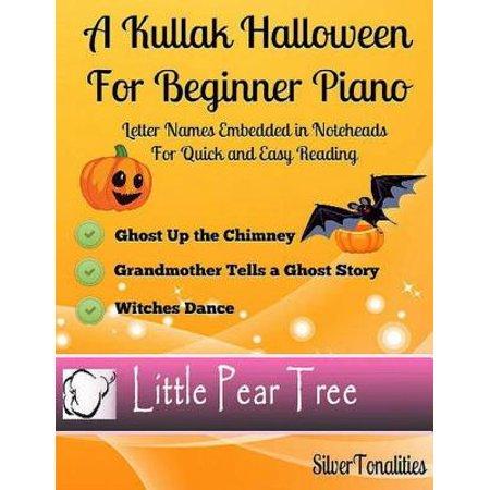 A Kullak Halloween for Beginner Piano - eBook (This Is Halloween Piano Mp3)