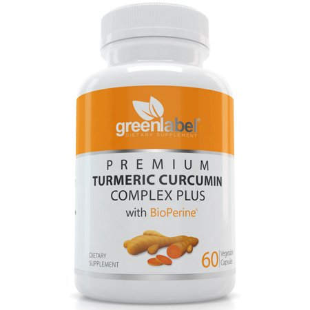 Premium Turmeric Curcumin With Bioperine 1200 mg | For Joint Pain Relief & Arthritis | Antioxidant & Anti-Inflammatory | Joints Support & Anti