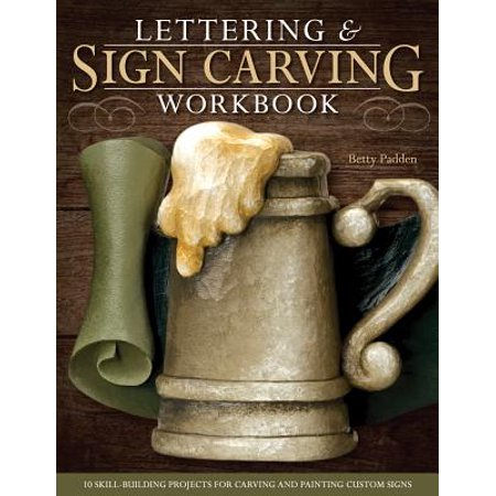 Easy Halloween Painting Projects (Lettering & Sign Carving Workbook : 10 Skill-Building Projects for Carving and Painting Custom)