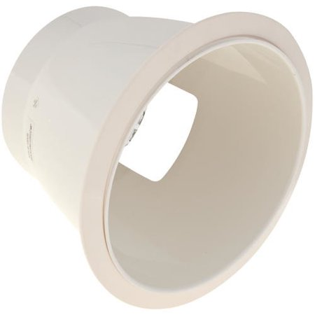 Recessed Socket - Monument Anodized Reflector Horizontal Socket 8'' Recessed Trim
