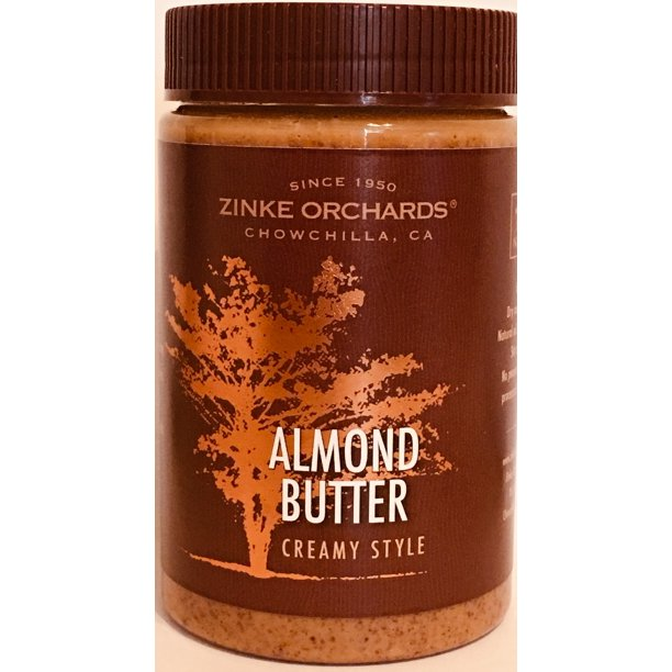 Zinke Orchards Creamy Almond Butter 3pack