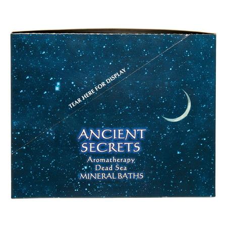 Ancient Secrets Aromatherapy Dead Sea Mineral Bath Salts, Evergreen Forest, 4 Oz