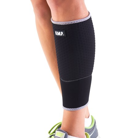 f0ba8410d2d Black Mountain Products Extra Thick Warming Calf Compression Sleeve - Therapeutic  Warming Sensation - Black
