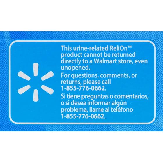 ReliOn Ketone Test Strips, 50 Ct - Walmart com