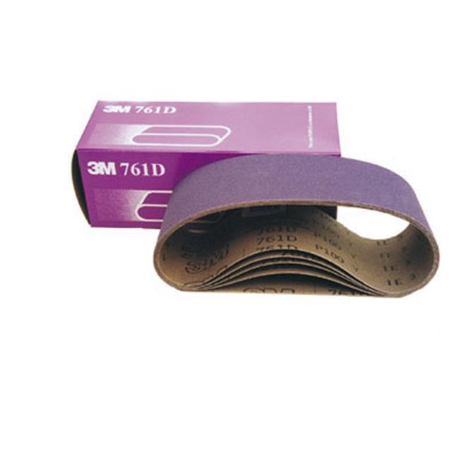 3MP4X24 080Y 4 x 24 in. 80 Grit Sanding Belts by HD