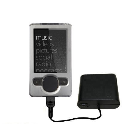 Portable Emergency AA Battery Charger Extender suitable for the Microsoft Zune (2nd and Latest Generation) - with Gomadic Brand TipExchange (Best Portable Generator Brands)